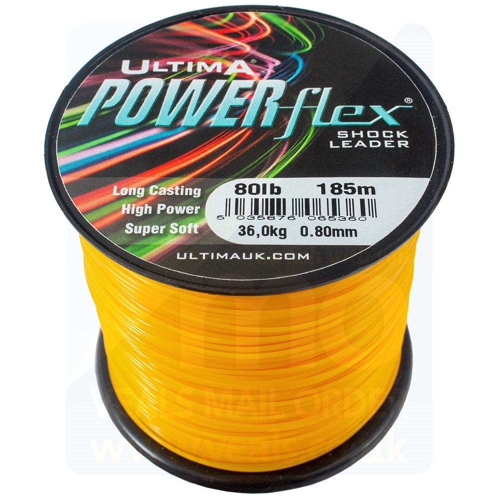 Ultima Powerflex Tapered Leader Clear