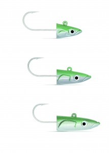 Lead Heads for Plastic Eels