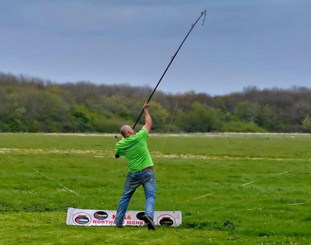 AFAW rods are equally at home on the field