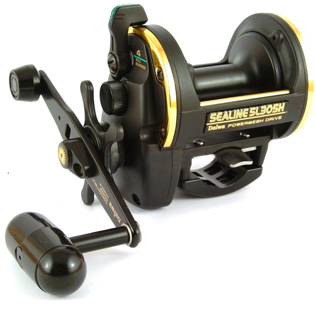 Gary's choice of reel- Daiwa SL30SH