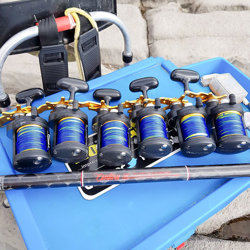 A fleet of well maintained reels